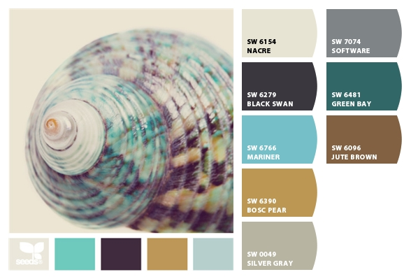 Im not a fan of the Green Bay color but everything else would find a place  in the room. Master Bedroom Color Palette